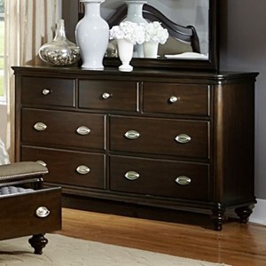Traditional Dresser with 7-Drawers