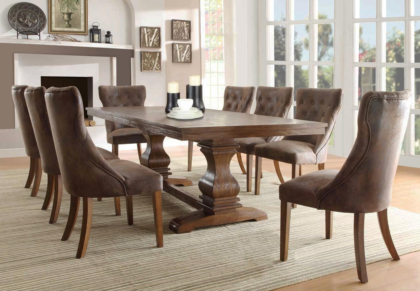 Mary Kate 9PC Dining Table & Chairs Set at Rotmans