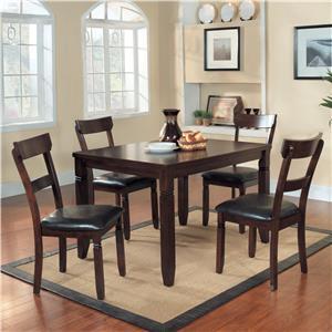 5 Piece Table & Chair Dinette Set