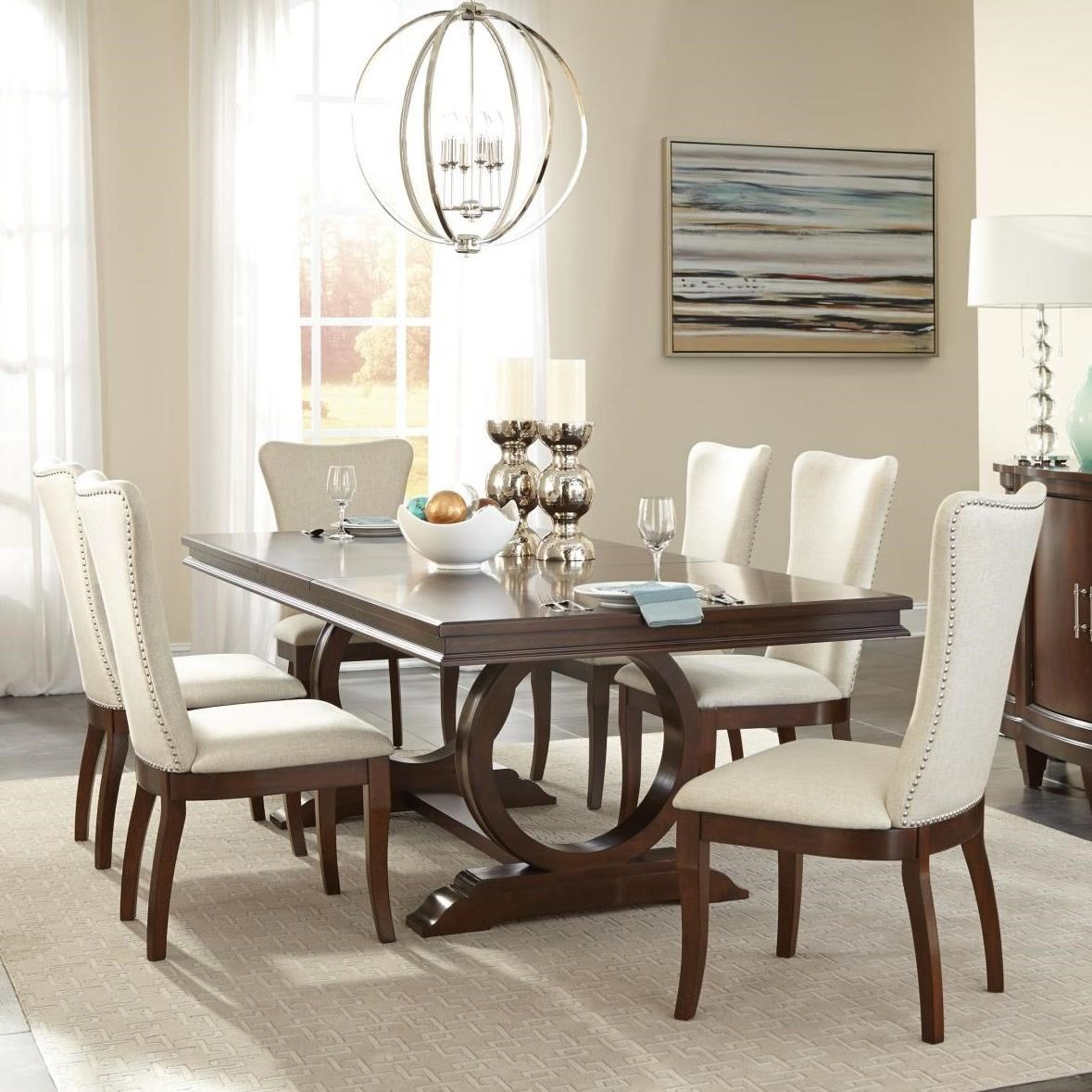 Oratorio Seven Piece Dining Set by Homelegance at Darvin Furniture