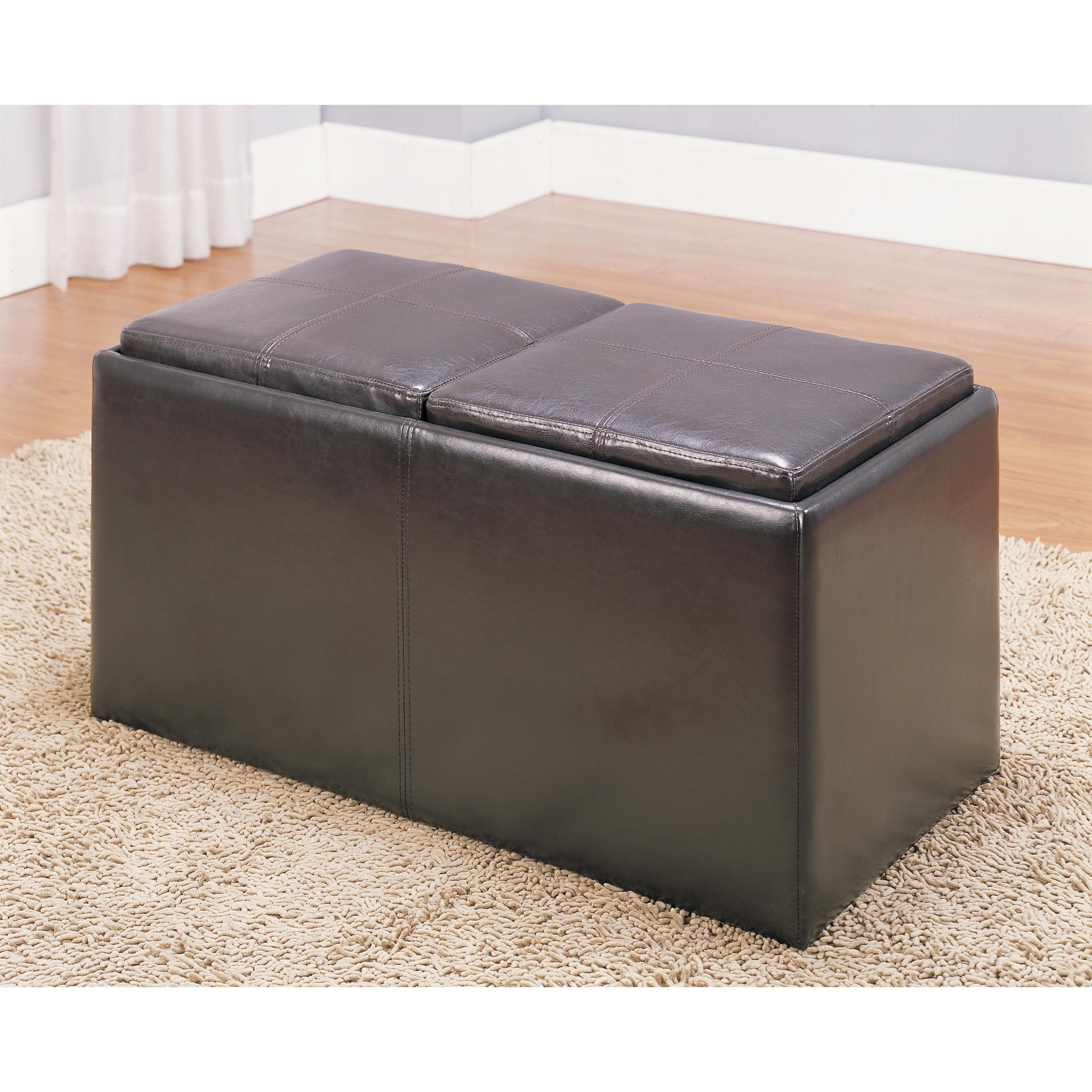 Ottomans Ottoman by Homelegance at Beck's Furniture