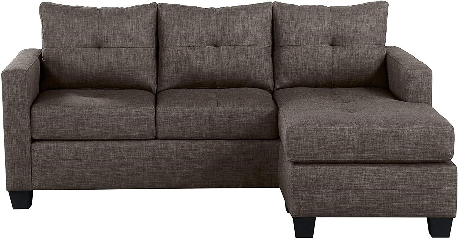 Phelps Reversible Sofa Chaise by Homelegance Furniture at Del Sol Furniture