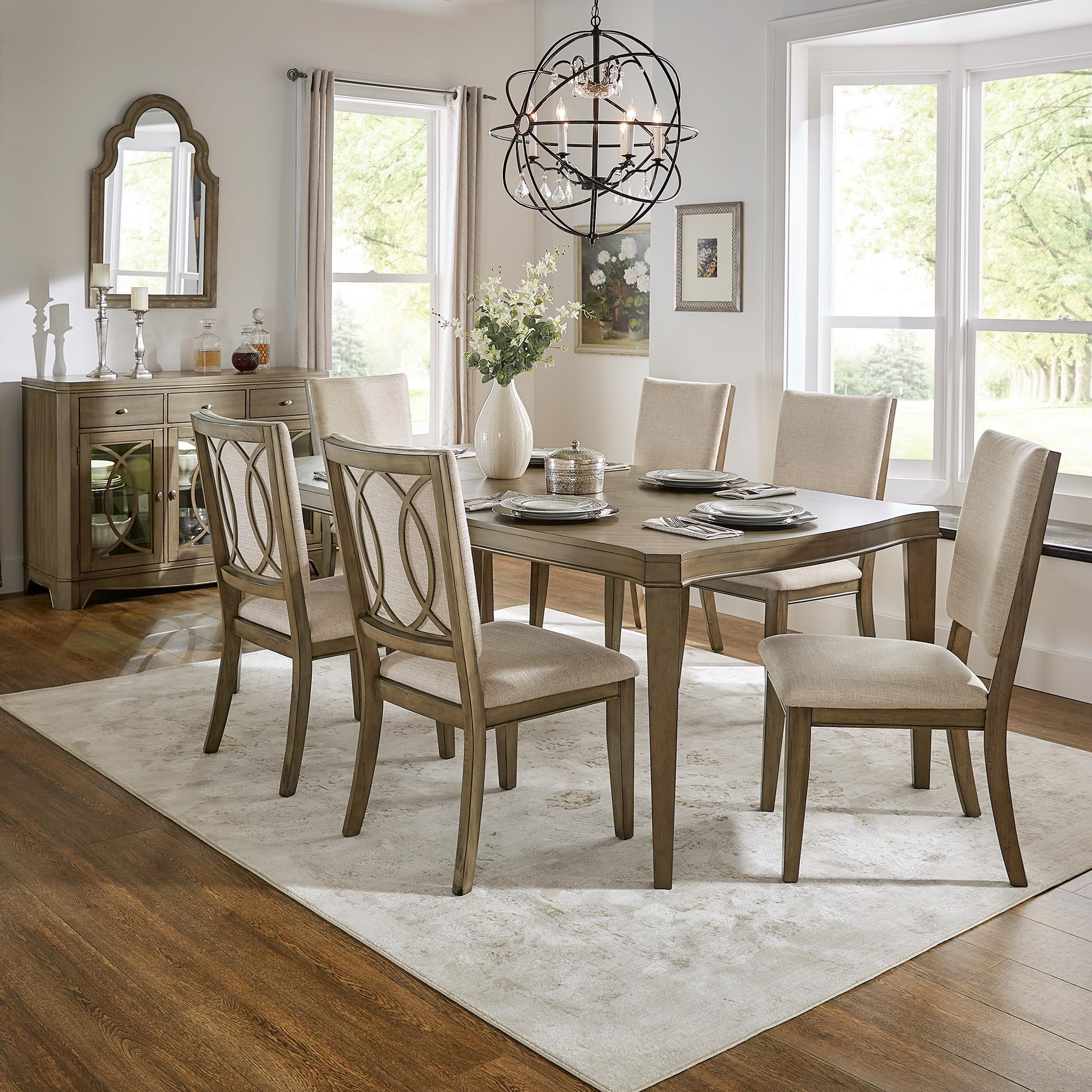 Price 5 Piece Dining Set by Homelegance at Darvin Furniture