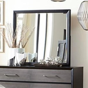 Contemporary Mirror with Beveled Edge