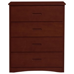 Transitional Youth Chest with 4-Drawers