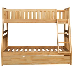 Twin Over Full Trundle Bunk Bed