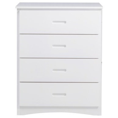 White Youth Chest by Home Style at Walker's Furniture