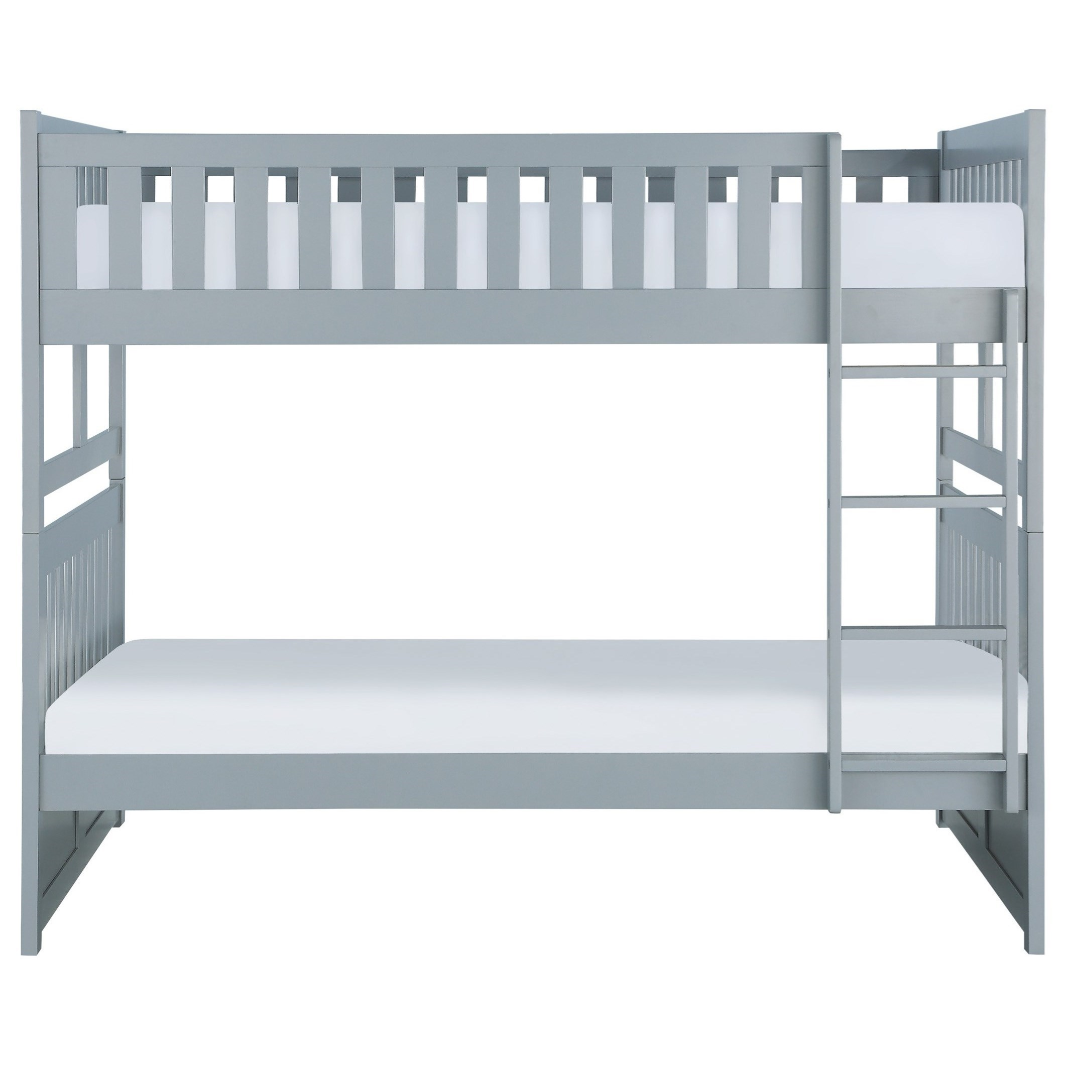 Gray Full Over Full Bunkbed by Home Style at Walker's Furniture