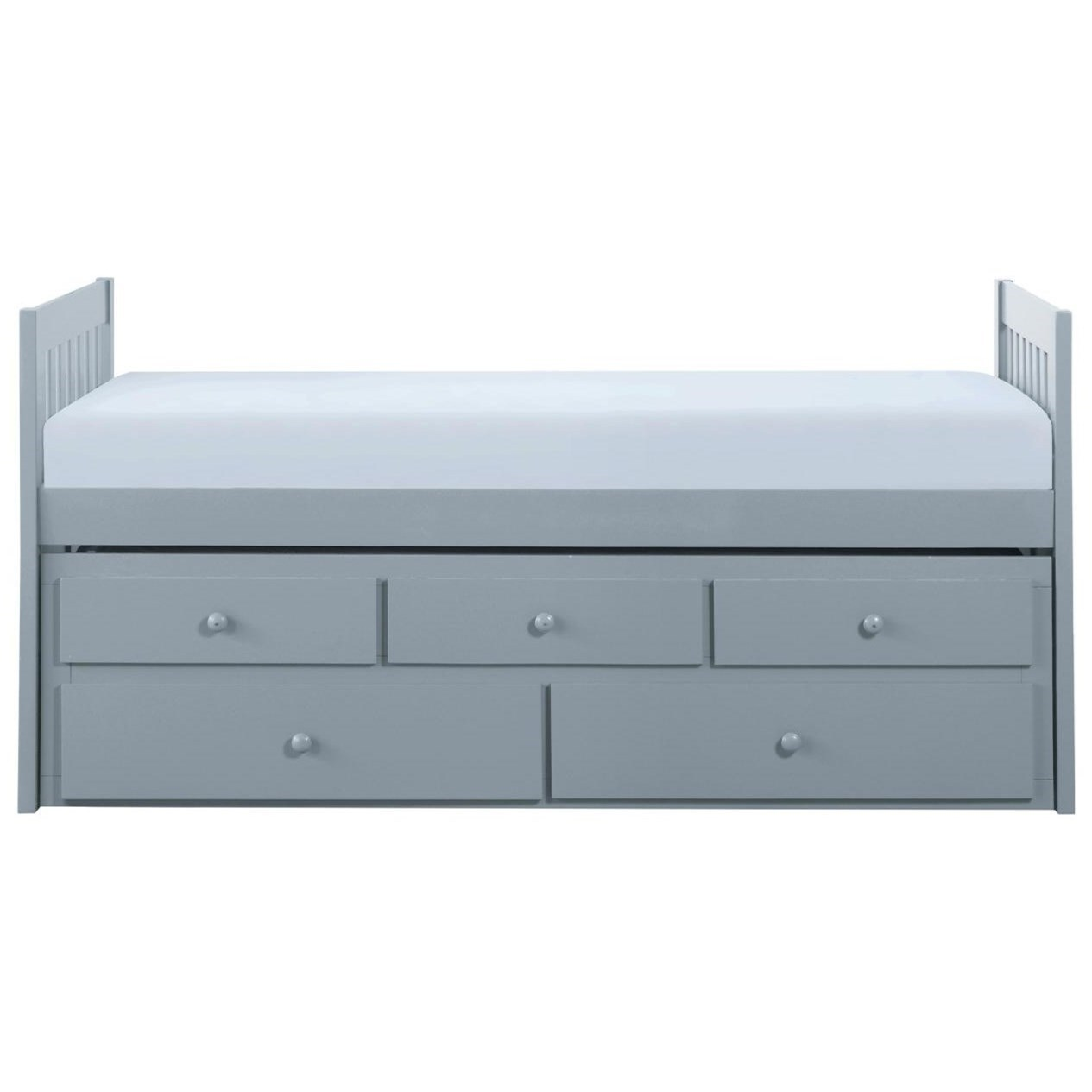 Gray Twin Captain's Bed by Home Style at Walker's Furniture