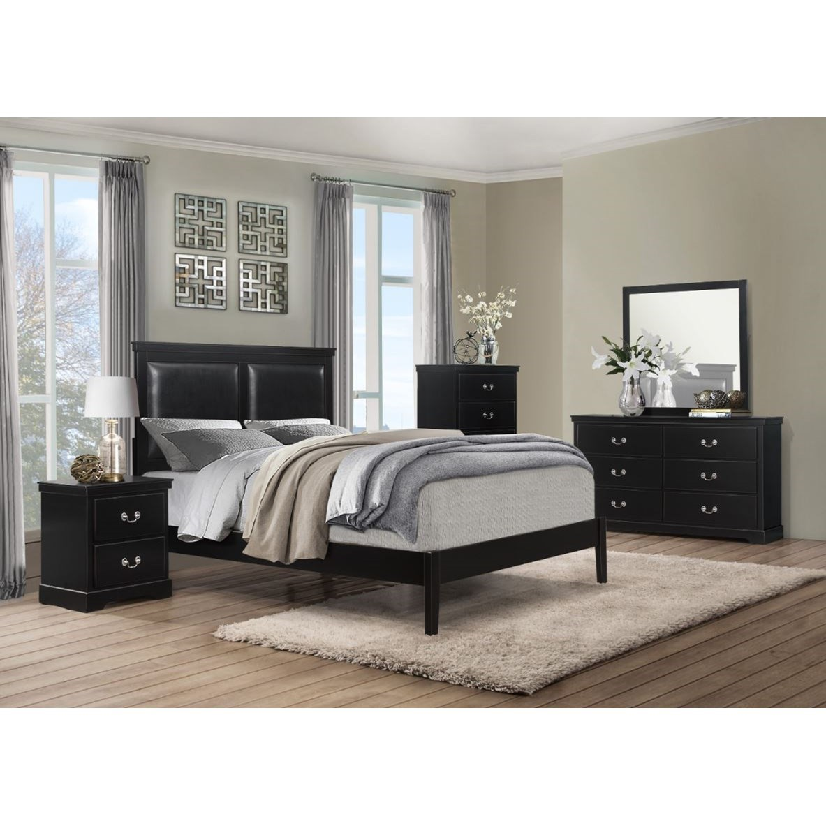 Seabright Queen Bedroom Group by Homelegance at Rife's Home Furniture
