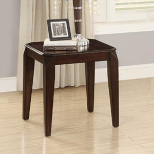 End Table with Clipped Corners