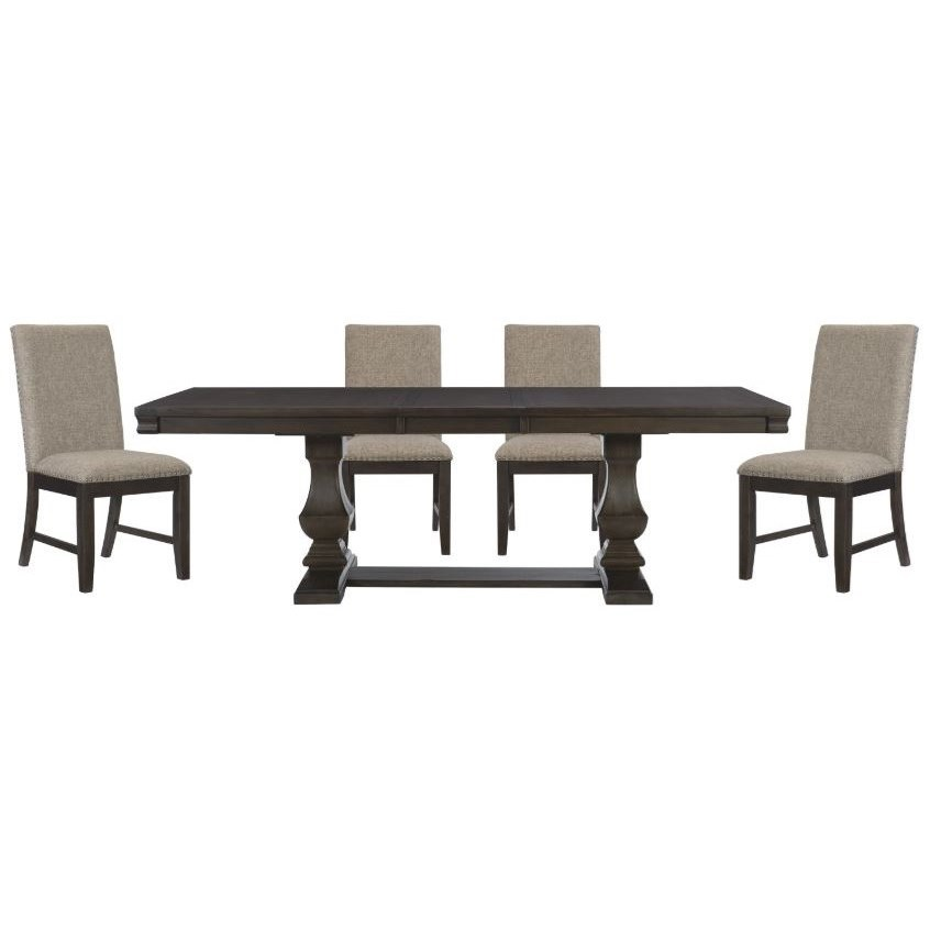 Southlake 5-Piece Table and Chair Set by Homelegance at Darvin Furniture