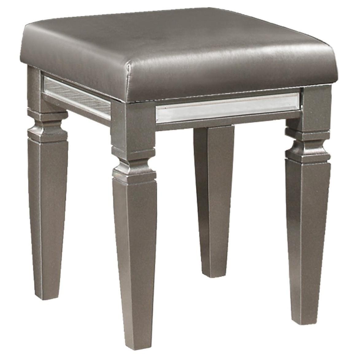 Tamsin Vanity Stool by Homelegance at Beck's Furniture