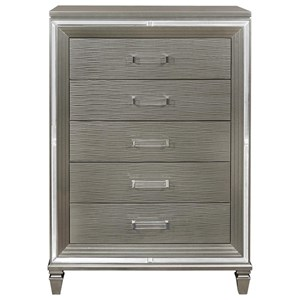 Glam 5-Drawer Chest