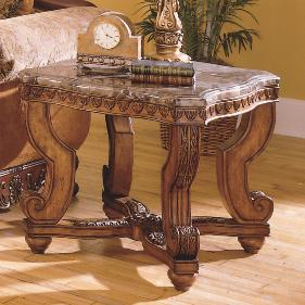 Tarantula End Table by Homelegance at Rife's Home Furniture