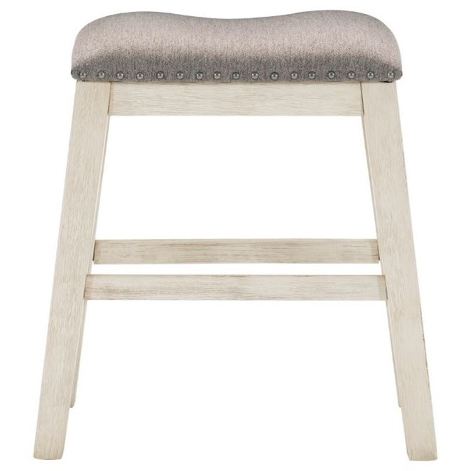 Timbre Counter Height Stool by Homelegance at Darvin Furniture