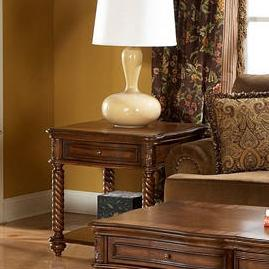 Trammel End Table by Homelegance at Rife's Home Furniture