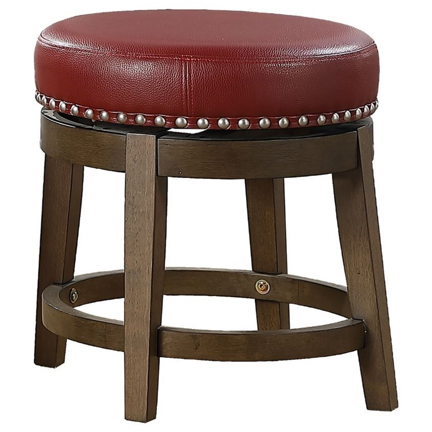 Westby Round Swivel Stool by Homelegance at Rife's Home Furniture