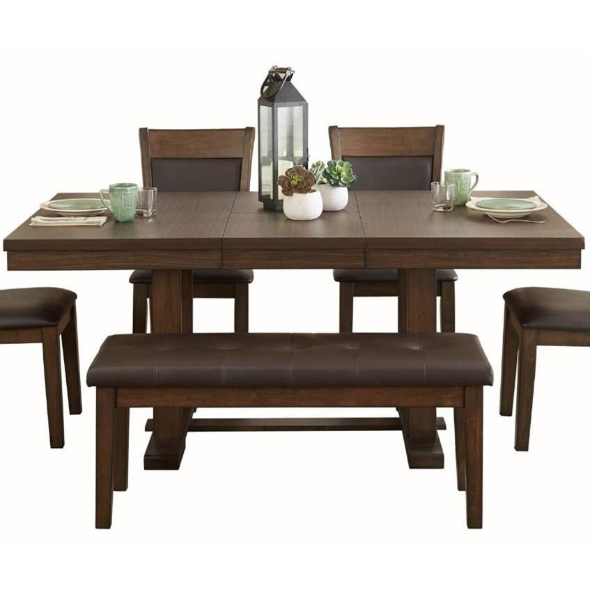 Wieland Dining Table by Homelegance at Beck's Furniture