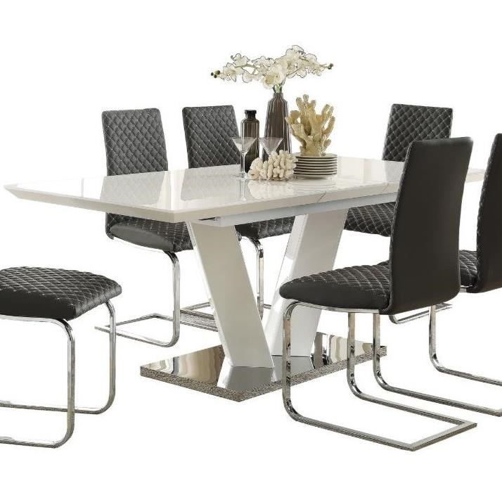 Yannis Dining Table by Homelegance at Beck's Furniture