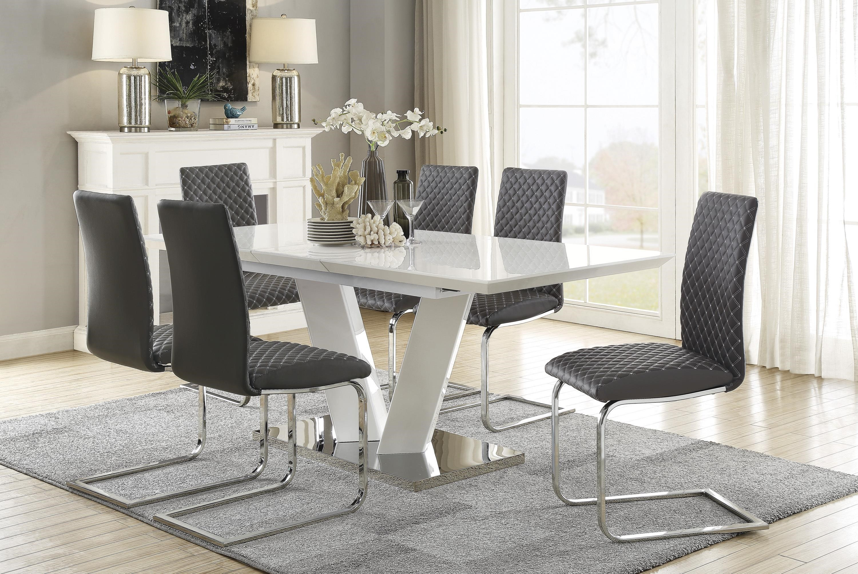 Yannis 7-Piece Dining Table Set by Homelegance at Beck's Furniture
