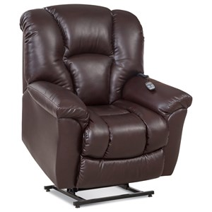 Casual Lift Recliner with Bucket Seat