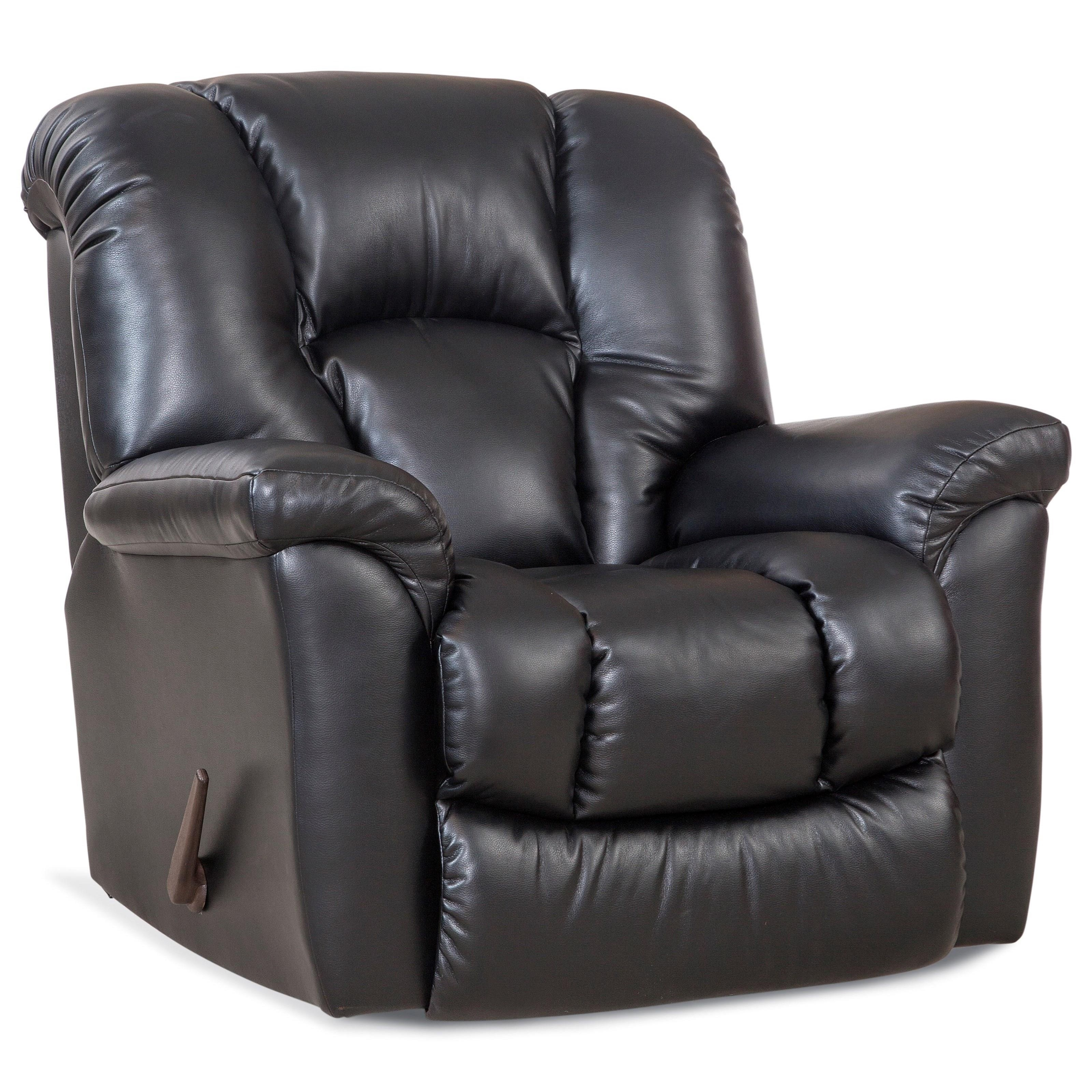 116 Rocker Recliner by HomeStretch at Coconis Furniture & Mattress 1st