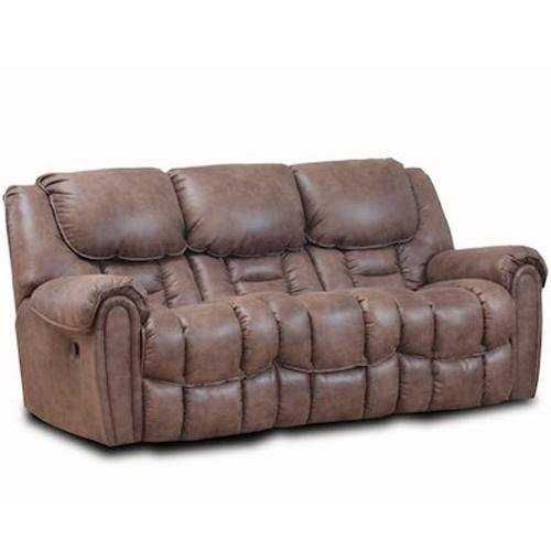 122 Casual Reclining Sofa by HomeStretch at Steger's Furniture