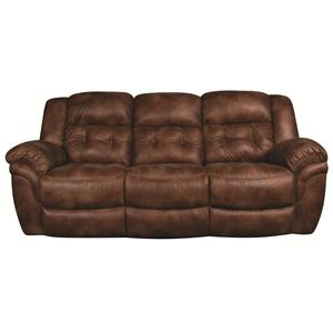 Power Reclining Plush Sofa