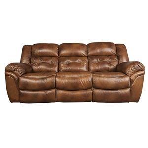 Power Reclining Plush Sofa