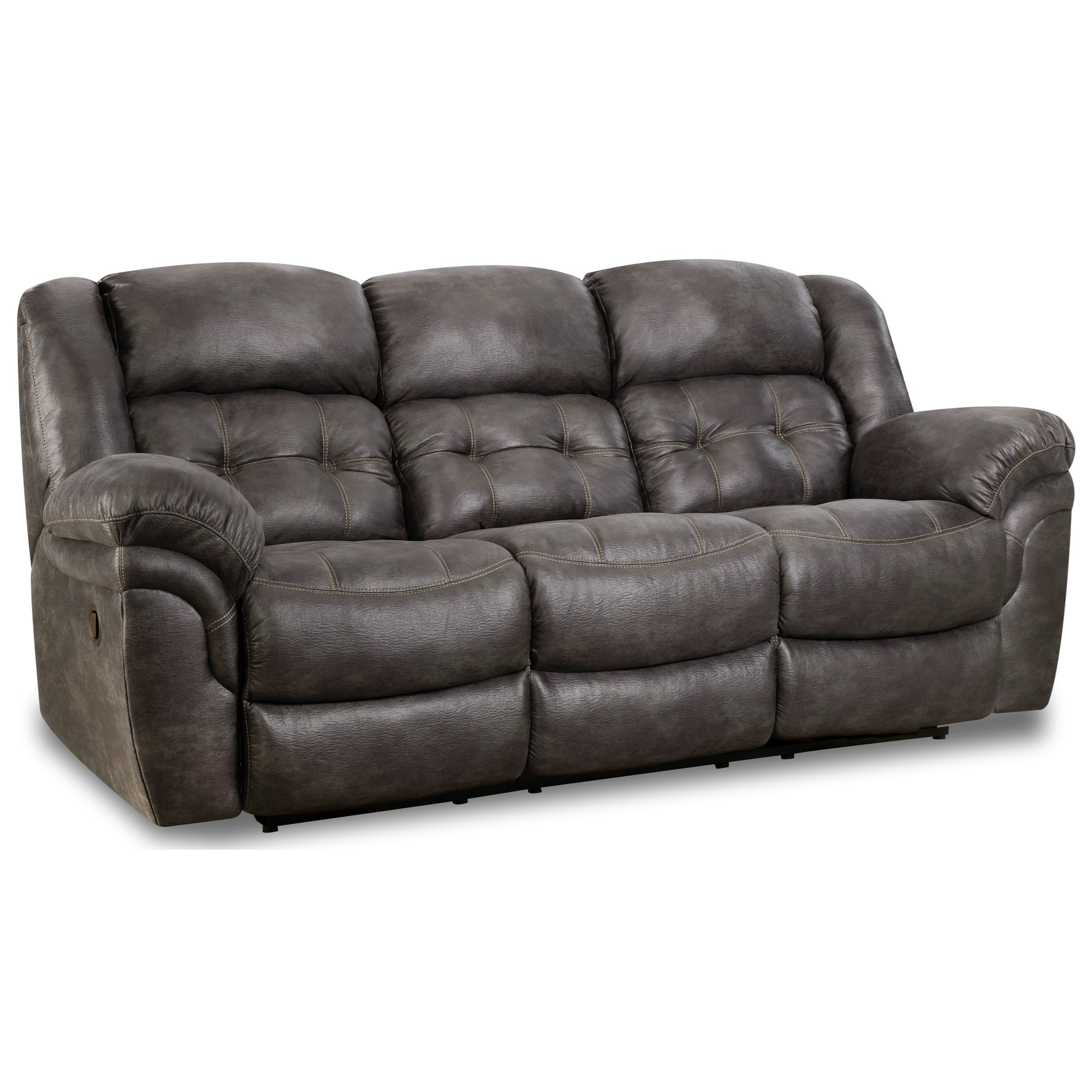 129 Reclining Sofa  by HomeStretch at Adcock Furniture
