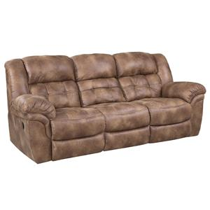 Casual Reclining Sofa
