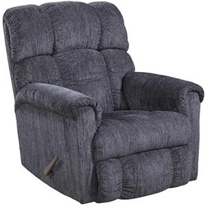 Plush Chaise Rocker Recliner