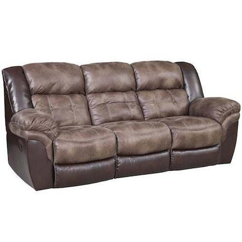 139 Reclining Sofa by HomeStretch at Suburban Furniture