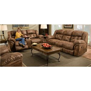 Reclining Sofa & Loveseat Set