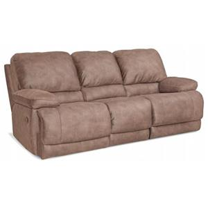 HomeStretch Diversey Slate Power Sofa