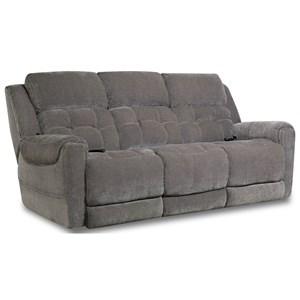 Casual Style Double Reclining Power Sofa