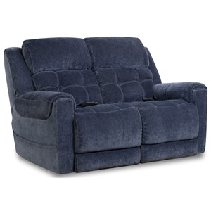 Casual Style Power Loveseat