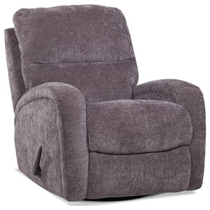 Swivel Glide Recliner w/ Sloping Track Arms