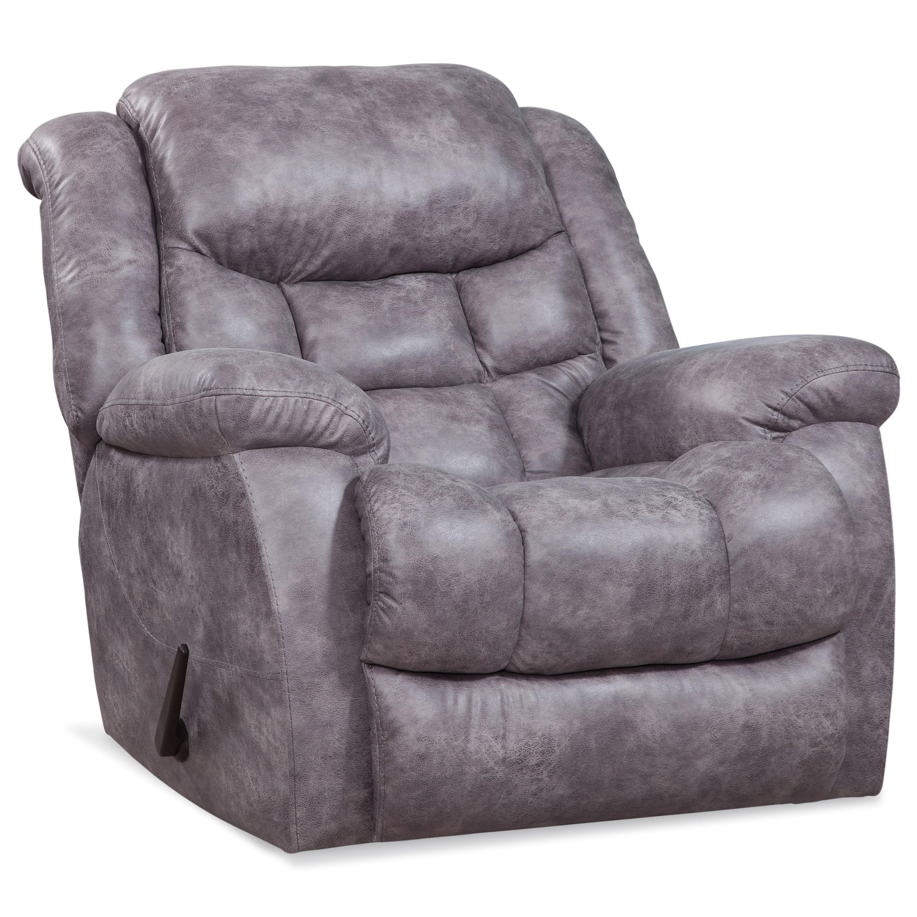 169 Plush Rocker Recliner by HomeStretch at O'Dunk & O'Bright Furniture