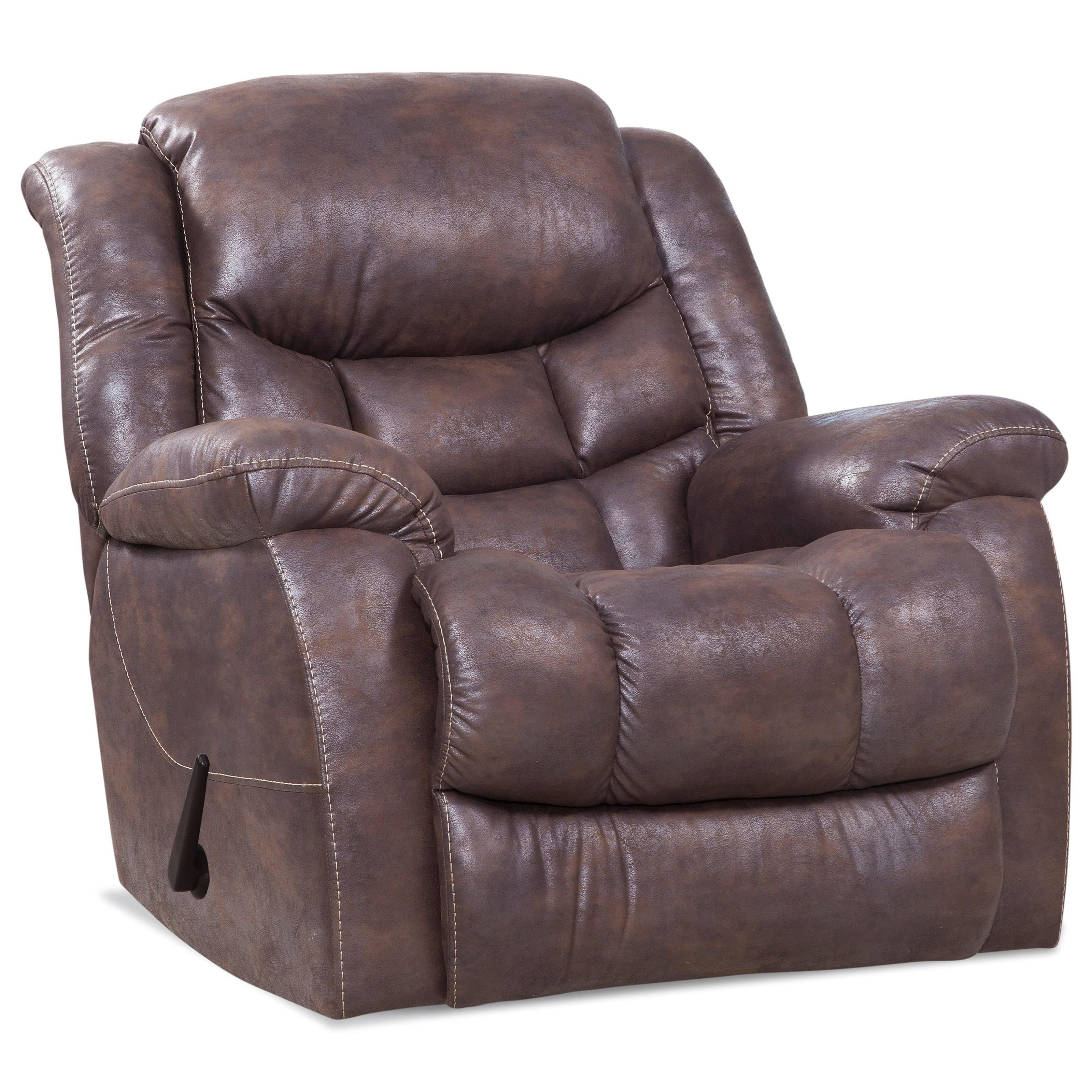 169 Plush Rocker Recliner by HomeStretch at Bullard Furniture