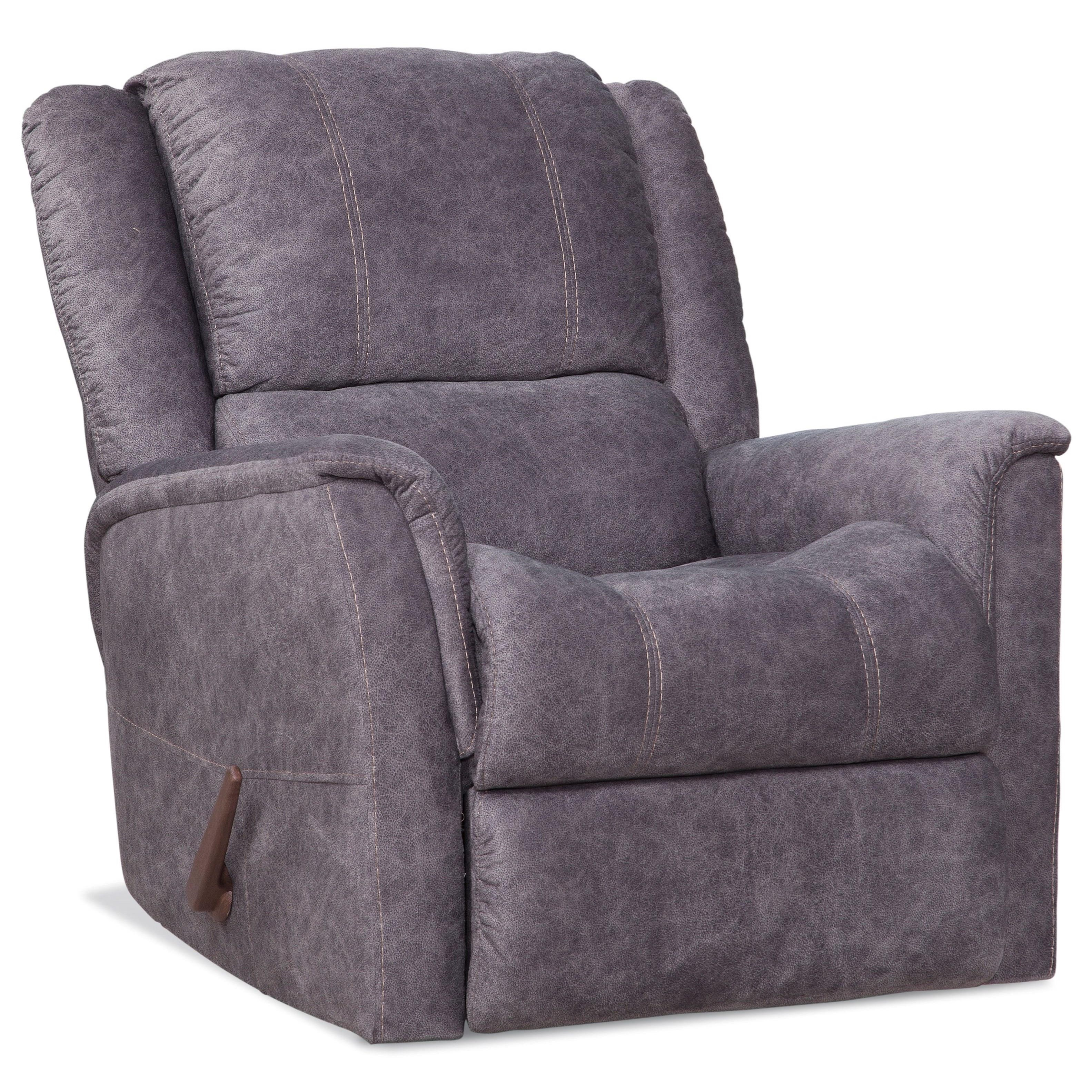 172 Casual Rocker Recliner by HomeStretch at Darvin Furniture