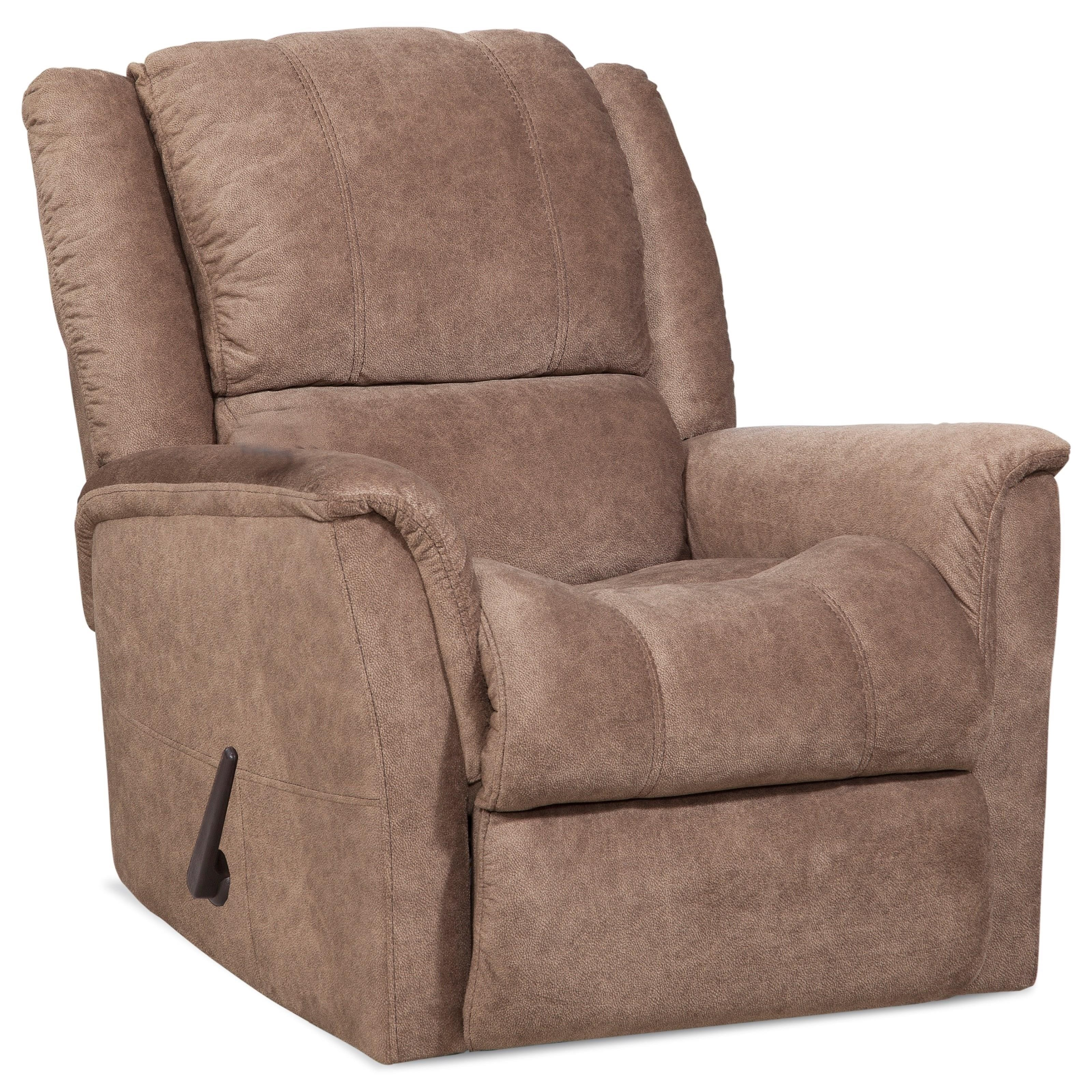 172 Casual Rocker Recliner by HomeStretch at Suburban Furniture