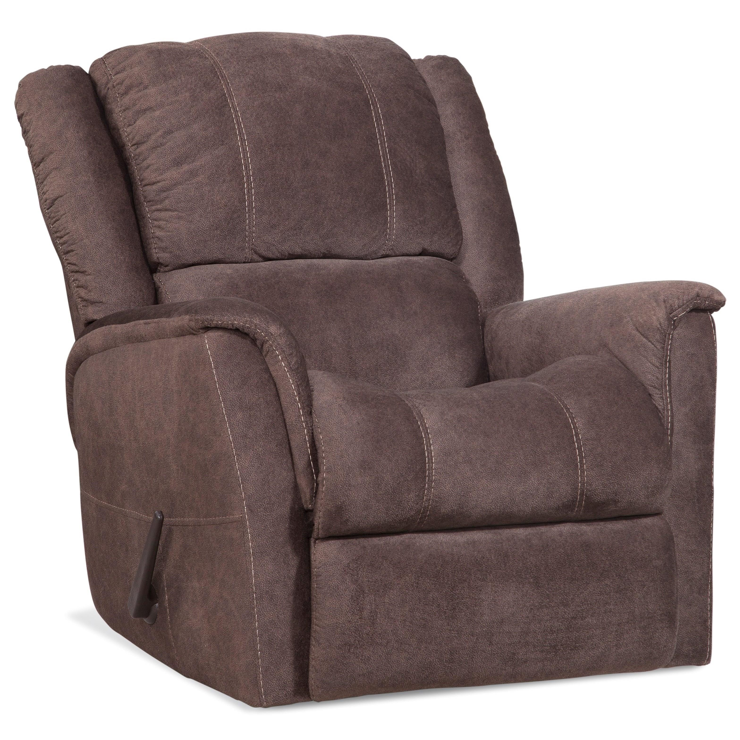172 Casual Rocker Recliner by HomeStretch at Van Hill Furniture