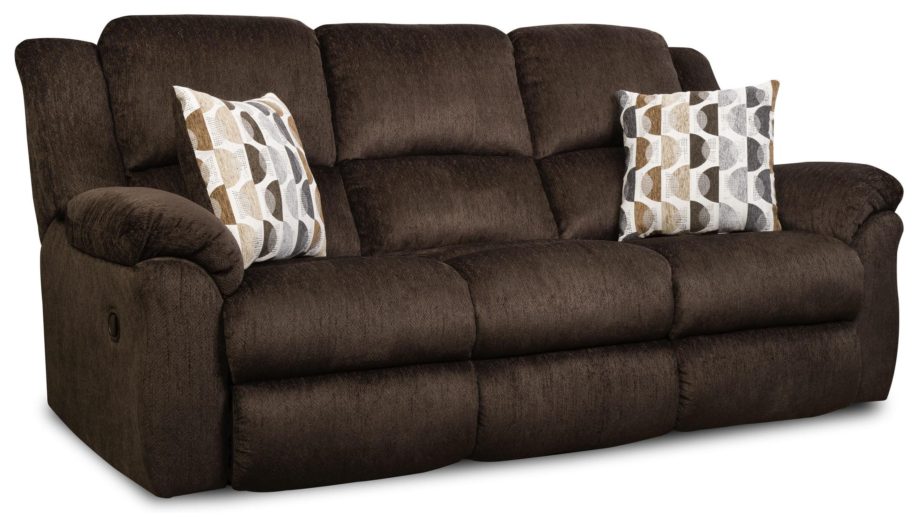 173 Reclining Sofa by HomeStretch at Johnny Janosik