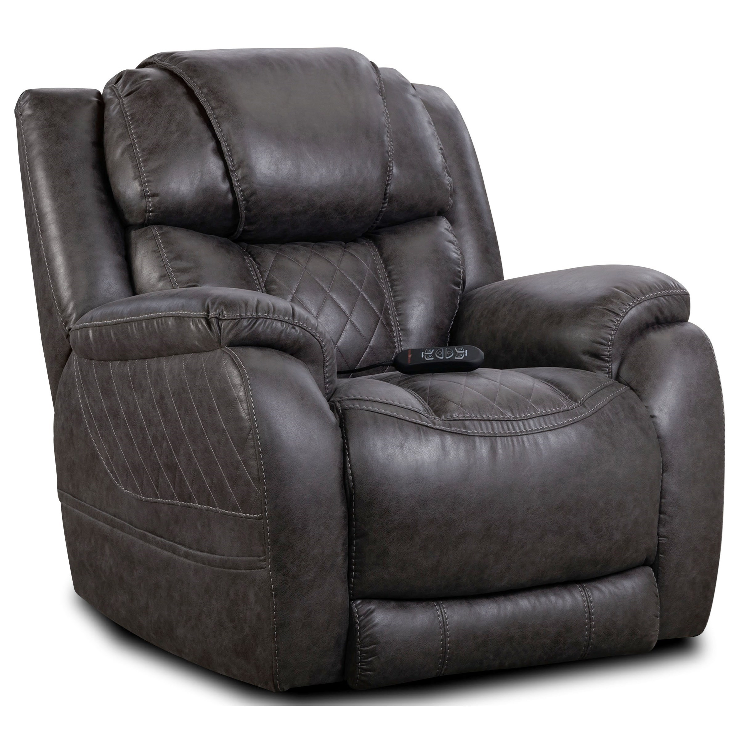 174 Power Wall Saver Recliner by HomeStretch at Wilcox Furniture