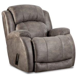 "Power Recliner with ""Scoop"" Seating System"