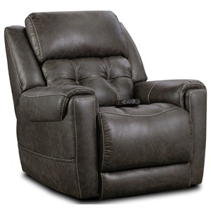 Casual Style Power Wall Saver Recliner