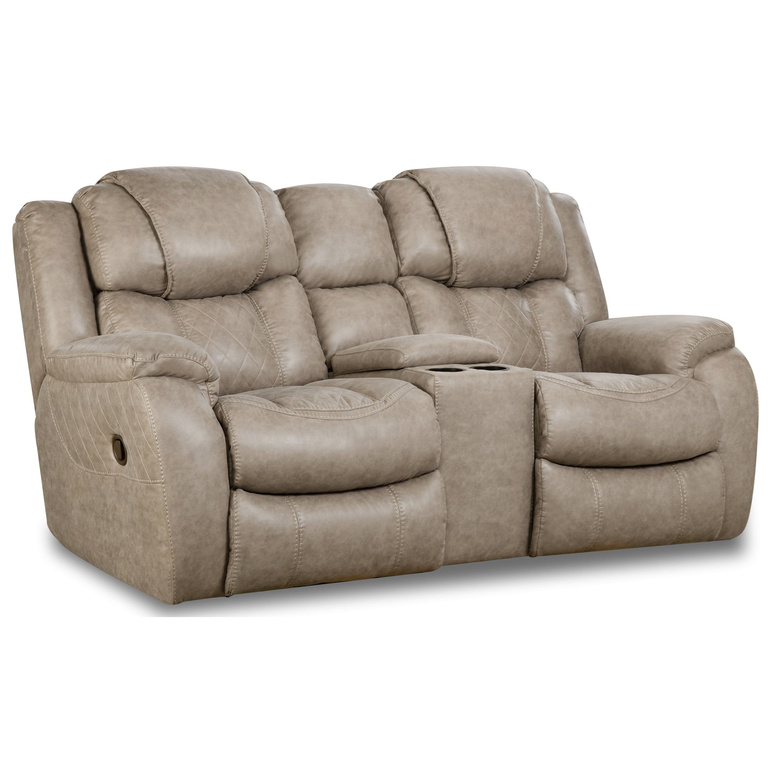 182 Reclining Console Loveseat at Prime Brothers Furniture