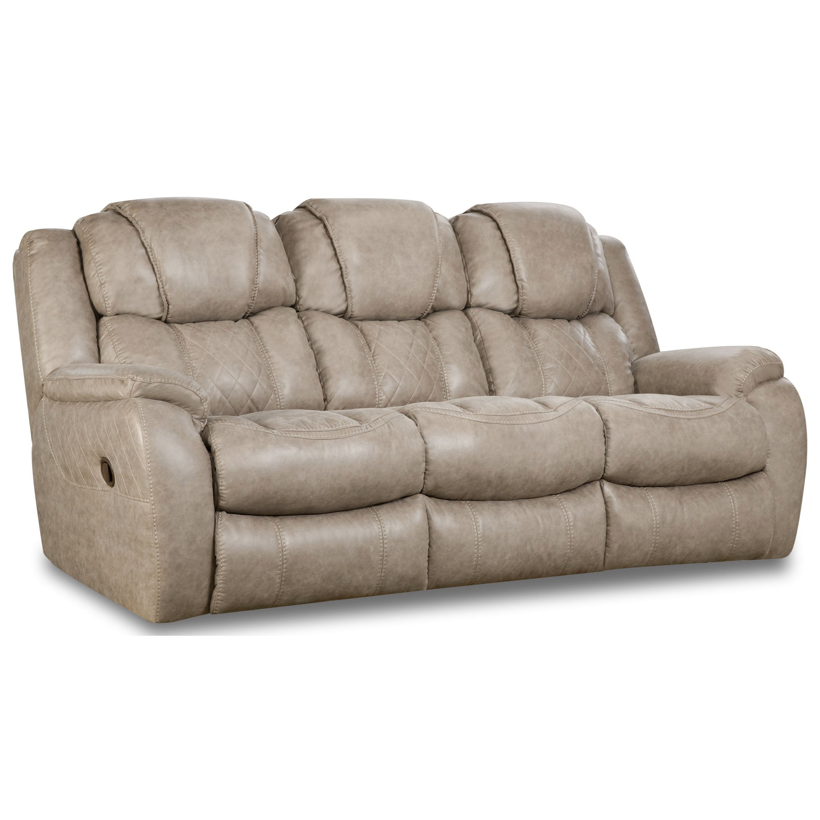 182 Double Reclining Sofa by HomeStretch at Gill Brothers Furniture